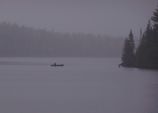 Fishing on Grace Lake.